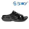 Black Mens Leather Corporate Wear Formal Sandals, Size: 6-10