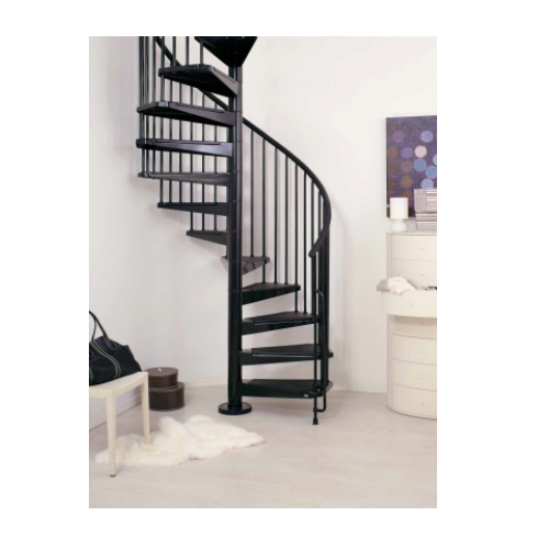 Spiral Staircase - Wooden MS Spiral Manufacturer from Chennai