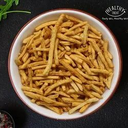Healthy Treat Salty Roasted Potato Sticks, Packaging Size: 100 Grams