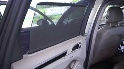 Car Side Windows Magnetic Curtain Mirror Cut (Set of 4)