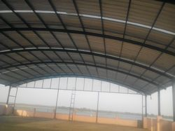 Steel Structural Roofing Shed