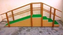 Wooden Straight Run Stair Case 2