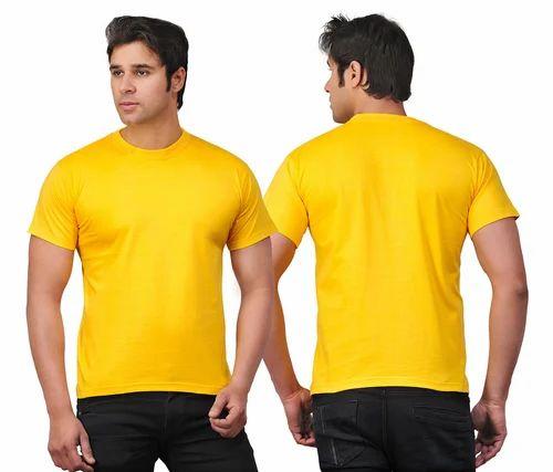 Round Neck Bio Wash Men's T-Shirt