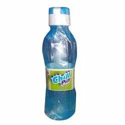Blue Plastic Chill Pill 1000 mL Water Bottle
