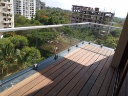 Aluminum T Bracket Balcony Railing