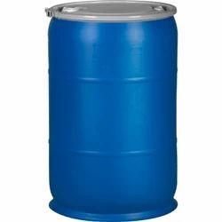 Plastic Blue Drum, Capacity: 100-150 L