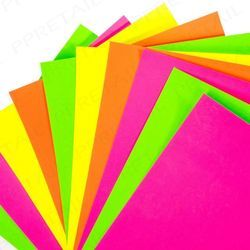 Plain Fluorescent Art Paper