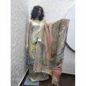 Ladies Designer Cotton Unstitched Suit