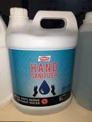 Parle Hand Sanitizer Bottle, 5 Liters