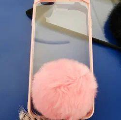Mobile Slim Cover-Peach