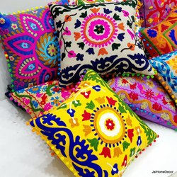 Uzbek Suzani Cushion Cover