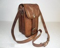 Genuine Leather Small Camera Bag