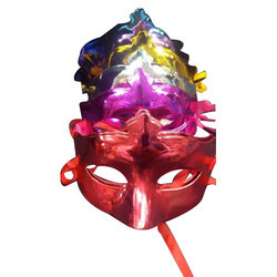 Plastic Face Party Mask