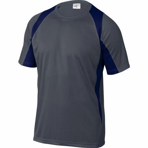 98a09b22d4ea Mens Polyester Sports Plain T-shirt