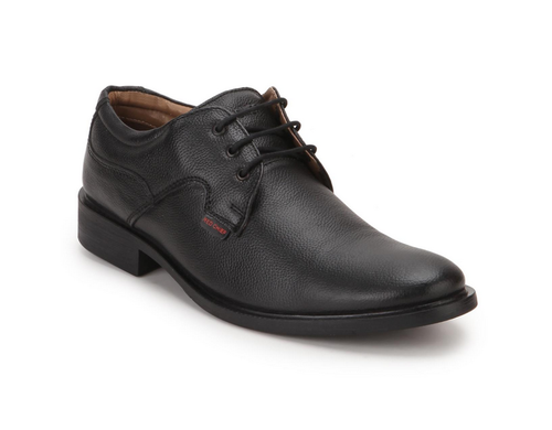 the latest new lifestyle volume large Red Chief Black Derby Mens Formal Shoes