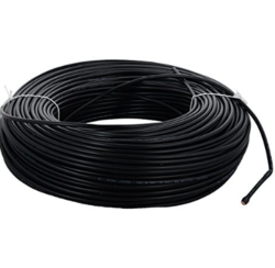 Black And Red Polycab Single Core FR PVC Insulated Cables