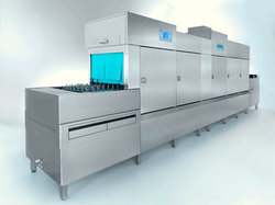 Rack Type Conveyor Based Dish Washing Machine