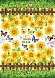 Wall Decor Sunflower 50X70