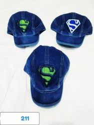 Jeans Caps, Embroidery Jeans Caps, Code 211