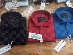 Cotton/Linen 38 To 44 Formal Shirt