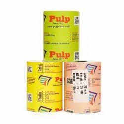 PULP POS Billing Rolls 75 GSM, 78 / 79 / 80 mm (3 inch), 35 meters