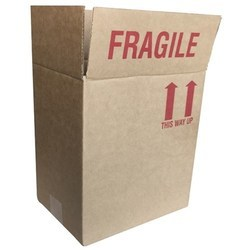 Fragile Carton Box Label