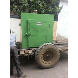 BSJS Electric Portable Industrial Heating Oven, Capacity: 100-500 Kg