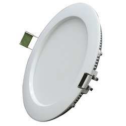 Round Panel LED Light with Integral Driver
