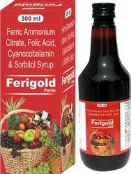 Ferric Ammonium Citrate Folic Acid Cyanocobalamin & Sorbitol Syrup