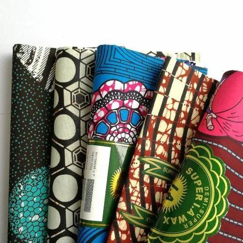 Dutch Super Wax Print Fabrics -Pange- Ankara