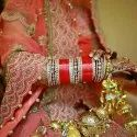 Punjabi Red Bridal Chura for Women & Girls
