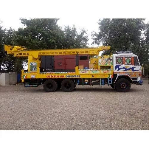 Water Well Drill Rig, Drilling Rig Type: Land Based Drilling Rigs