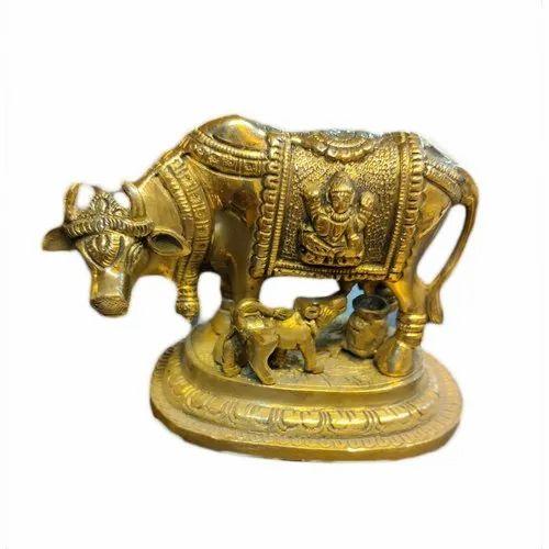 Bronze Cow Statue