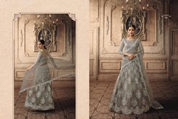 Topnotch Net Embroidered Wedding Wear Lehenga Choli