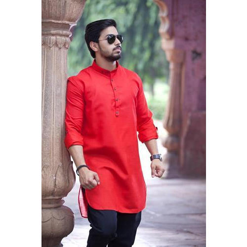 3fb38a410 Mens red and black pathani suit size pair jpg 500x500 Red pathani