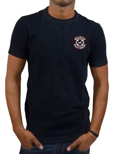 6e7a159cf511 Plain Hollister Men  s Crew Neck T-Shirt