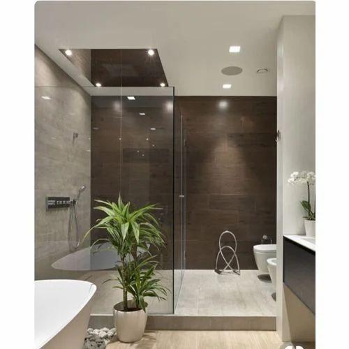 Brown Ceramic Bathroom Wall Tiles 10