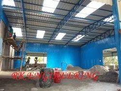 Steel Roofing Truss Work