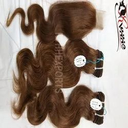 Remy Indian Human Hair Bouncy Wave