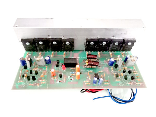 High Power Stereo Amplifier Kit - Circuit Diagram Images
