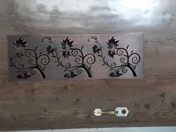 Silver Steel Lesar Cutting Grill for Home