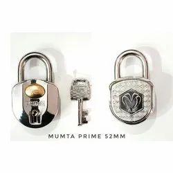 Mumta 7 Lever Round Padlock, Padlock Size: 52 mm, Chrome