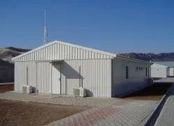 Mild Steel Prefab Industrial Shelter