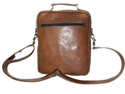 Leather Zipper Postman  Bag