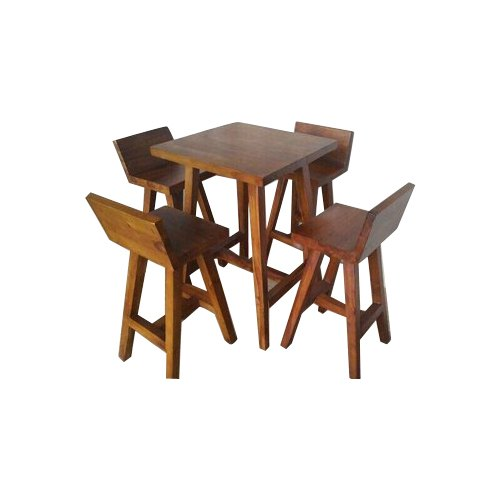 Wood Square Dining Table Set For Restaurant Rs 11000 Set Antiquarian Decor Id 20578675491