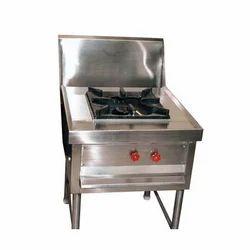 Silver Bulk Cooking Range