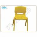 Yellow Kids Plastic Chair