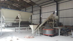 Concrete Batching Plant for Fly ash Bricks