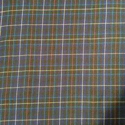 Cotton School Dress Fabric, Length: 50-100 m