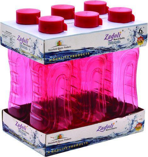Zadoli Plain 1000 ml Plastic Fridge Bottle